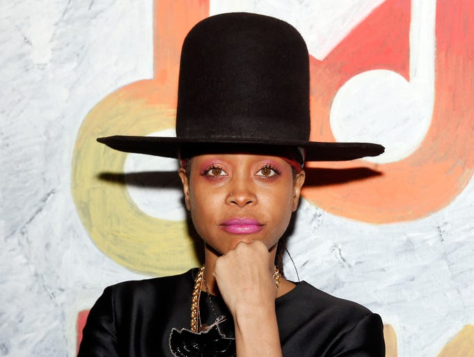 """Erykah Badu is the newest member to join the dubious club of entertainers who have performed for dictators and their family members. <br /> <br /> She sang """"Happy Birthday"""" forSwaziland's King Mswati III, who isAfrica's last absolute monarch. She dedicated her first song to the """"sons of kings."""" She defended herself on Twitter, claiming that she was not paid for her performance.<br /> <br /> Here, she makes an appearance at 2014's SXSW in Austin."""