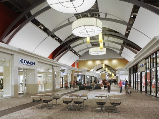 Opry Mills mall has dozens of discount retailers,including many shared brands with Tanger Outlets.