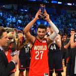 UK's Murray wins MVP of NBA Rising Stars Challenge