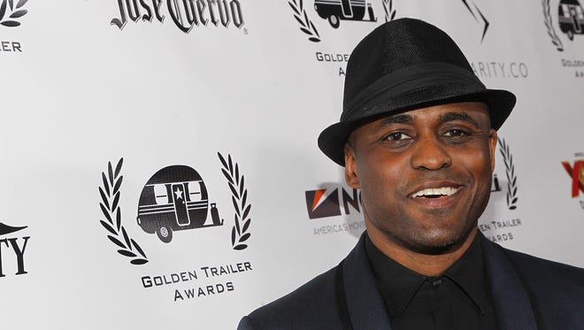 Wayne Brady attends the 17th Annual Golden Trailer Awards held at Saban Theatre on May 4, 2016, in Beverly Hills, Calif.