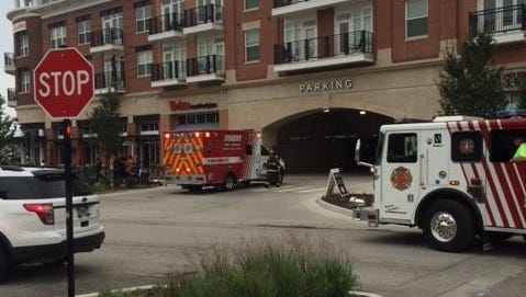 A fire at Brixx Wood Fired Pizza in Fishers injured two people on Tuesday.