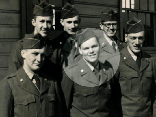 During the Korean War, Lewis Birmelin was assigned