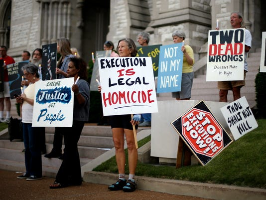 Supreme Court halts execution by lethal injection