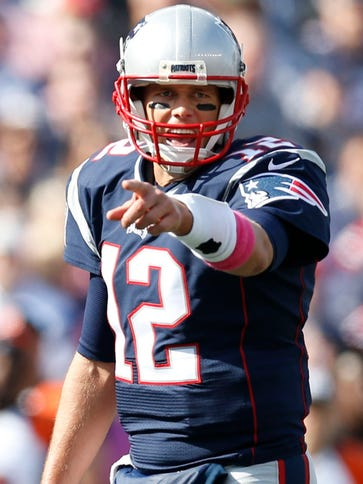 Tom Brady has pointed the Patriots to two wins since
