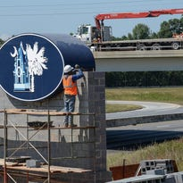 Ask LaFleur: What is the meaning behind new sign on Interstate 85?