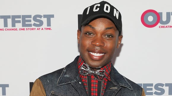 Todrick Hall attends the Outfest Los Angeles LGBT Film