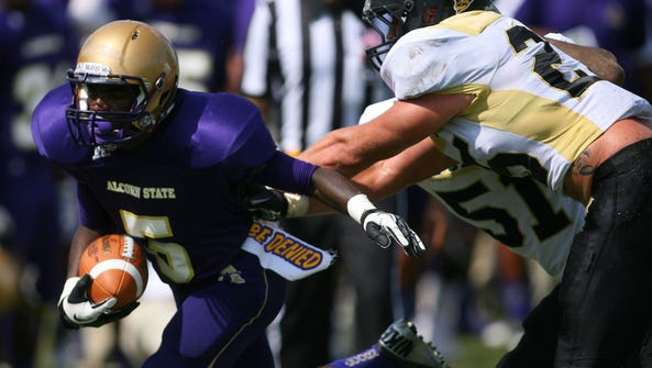 Alcorn State receiver Tollette George caught 22 passes