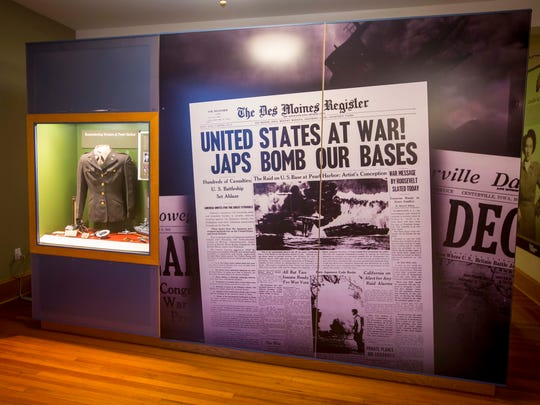 The Fort Des Moines Museum and Education Center, honoring