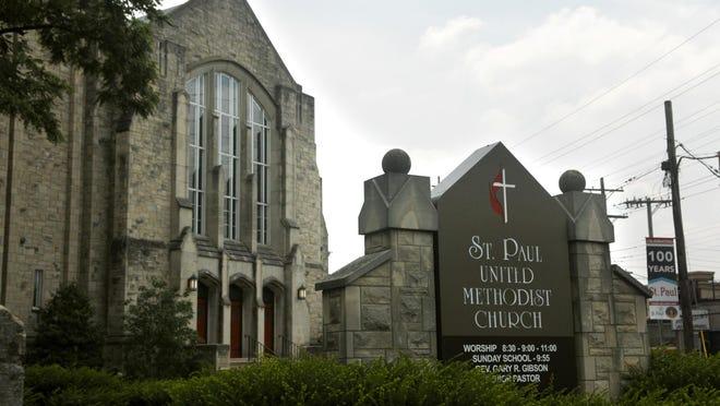 St. Paul United Methodist Church on Douglas Boulevard in Louisville, Kentucky.