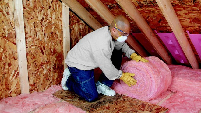 If insulation is not 10-14 inches deep, new insulation should be put down.