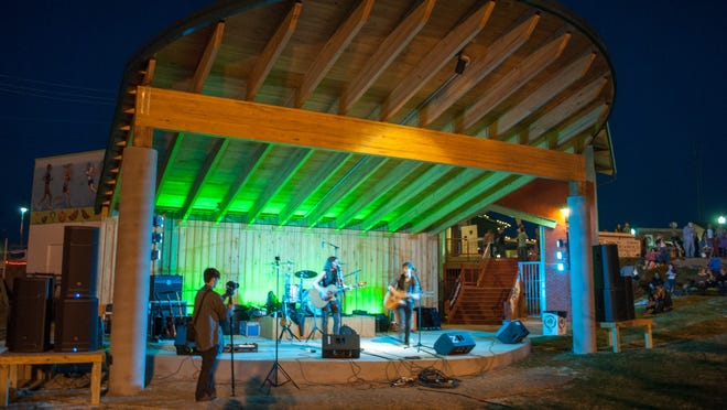 The AMP's second season will include weekly live music and entertainment until October.