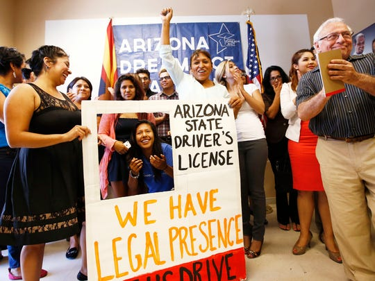 Arizona Dreamers celebrate their last court victory,