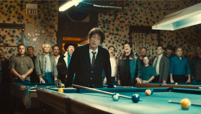 A still frame from the Chrysler's 2014 Super Bowl commercial  featuring Bob Dylan.