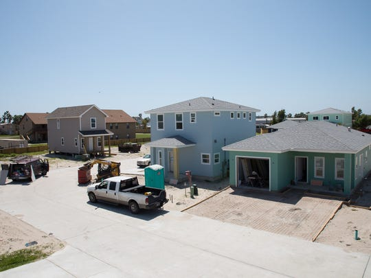 A subdivision in Port Aransas constructed on land after Bill Gavit used the cities flexible unit development program on land owned by his family to sell land to build affordable housing.
