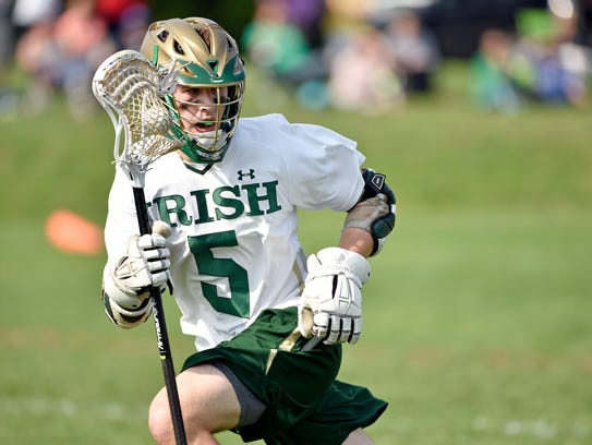 Eli Doyle brings the scoring touch to York Catholic.