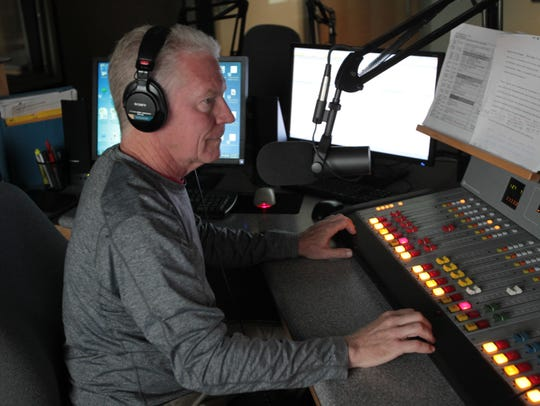 Roy Weinberg produces a show on Sun Sounds in Tempe,