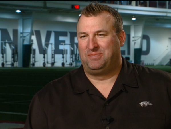 The University of Arkansas announced that Bret Bielema will join the NFL Network as a draft analyst this week.
