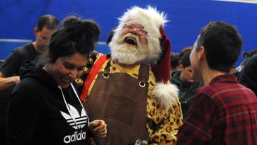 Santa portrayal brings magic to local man's life