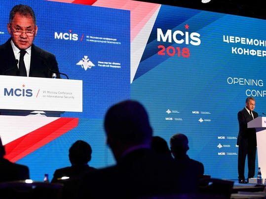 RUSSIA-DEFENCE-SECURITY-CONFERENCE