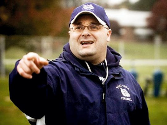 Ron Miller led West York to a District 3 Class 3-A football championship in 2008. Miller is now the head coach of the Dallastown Wildcats. DISPATCH FILE PHOTO