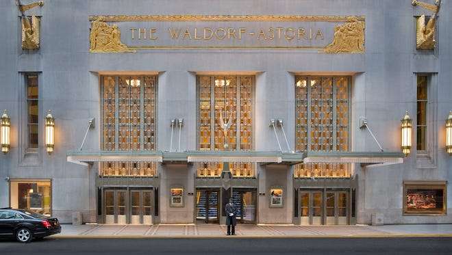 Hilton Worldwide is selling the Waldorf Astoria New York to Chinese insurance company Anbang Insurance Group for $1.95 billion.
