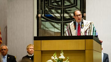 Stepping up during Irma: Rabbi Adam Miller opened Temple Shalom as evacuation shelter