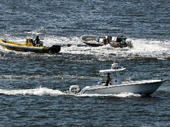 This boating accident in the St. Lucie River in 2010 had one fatality and one injury when both passengers were ejected.