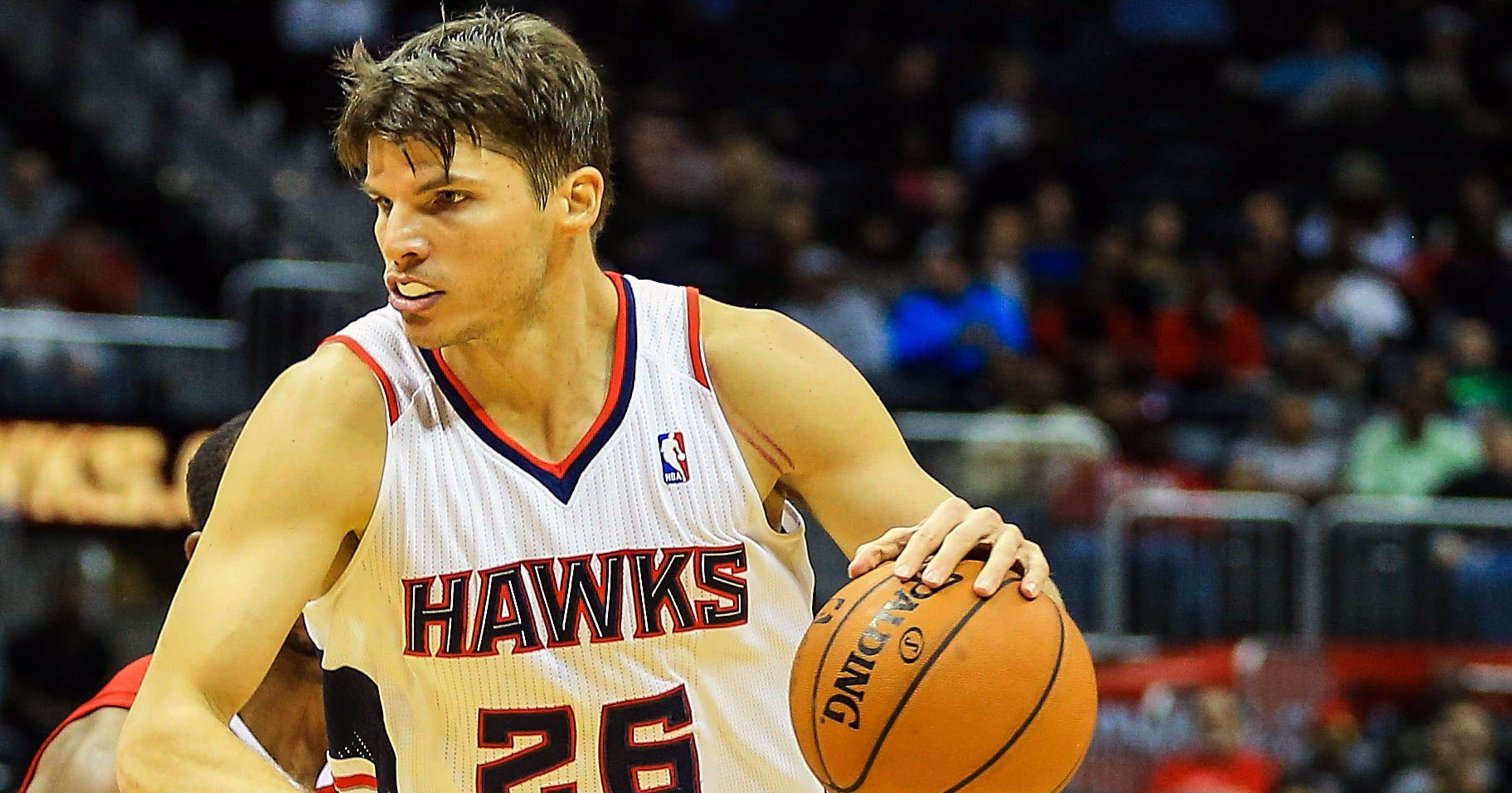 d5a0e37fdce6 Kyle Korver ties record three-pointer streak as Hawks top Clippers