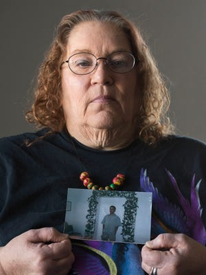 Sheila Nichols lost her son, Jonathan Chilly Jr., to heroin on June 8. In 2013, 464 people died in Maryland as a result of heroin-related intoxication.