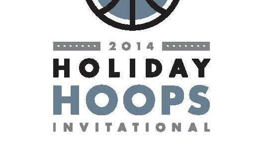 Logo for the 2014 Holiday Hoops Invitational