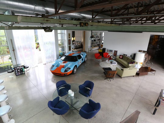 Heated floor, with room for your show car in this 6,098-square-foot home, listed for $999,000.
