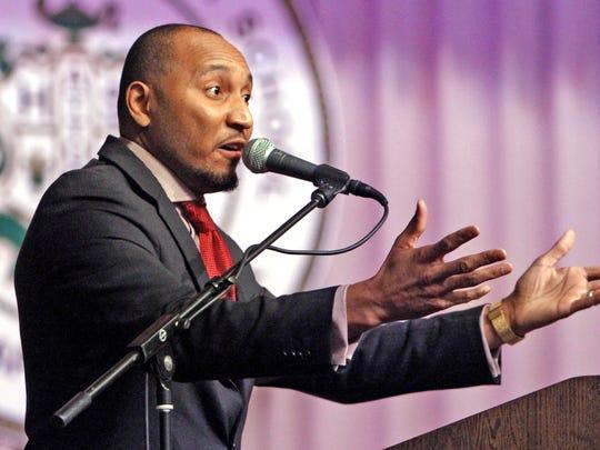 David Hampton, deputy mayor for neighborhood engagement, also is pastor of Light of the World Christian Church.