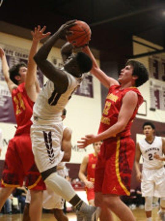 Bergen Catholic and Don Bosco basketball