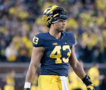 The 6-5, 300-pound Wormley, who was drafted in the...