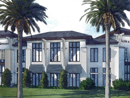 A rendering of the new Robb & Stucky Boca Raton showroom, opening in 2016.