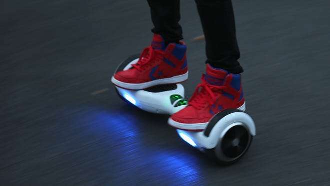 With more and more hoverboards appearing on campus, the product is rapidly solidifying itself as a method of transportation.