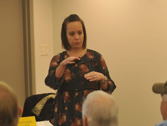 Dr. Kelsey Murray explains the results of her study
