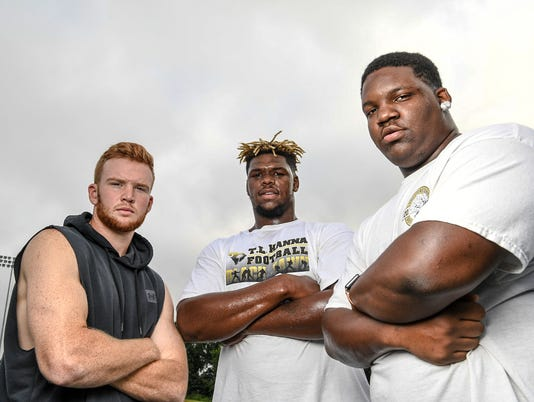 TL Hanna High School football preview 2018 three players to watch
