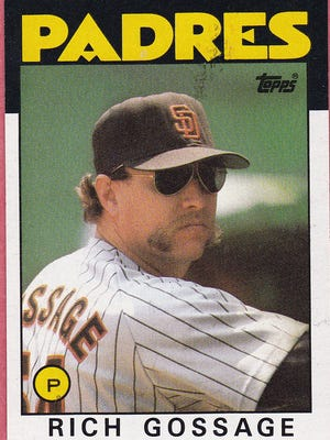 Hall of Famer Goose Gossage looked menacing on his 1986 Topps baseball card, and he's even crankier now about the state of the game.