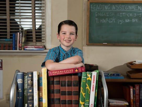 Iain Armitage plays the title character in 'Young Sheldon,'