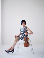 Violist Jennifer Koh will perform at the Ojai Music