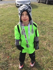 Jaxon Forgrave, 7, will be part of AYSO's VIP soccer