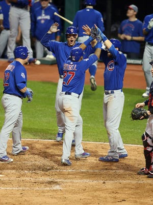 Addison Russell's grand slam ensured the Cubs will live to see a Game 7 in Cleveland.