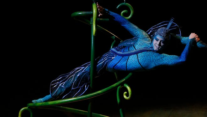 """Cirque Du Soleil's """"OVO"""" opened Wednesday night at the Don Haskins Center for the first of seven shows."""