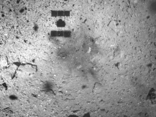 This image released by the Japan Aerospace Exploration
