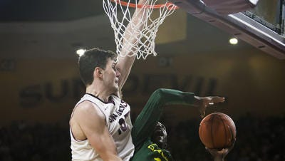 Former Arizona State center Jordan Bachynski hopes to perform well at this week's NBA Scouting Combine in Chicago.