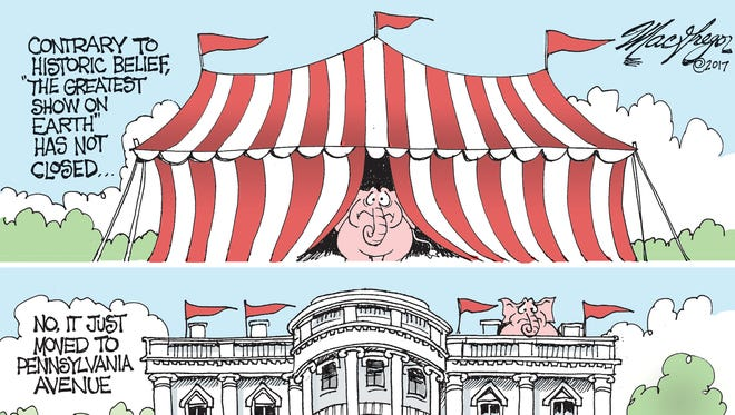Trump and the Greatest Show on Earth commentary by Doug MacGregor
