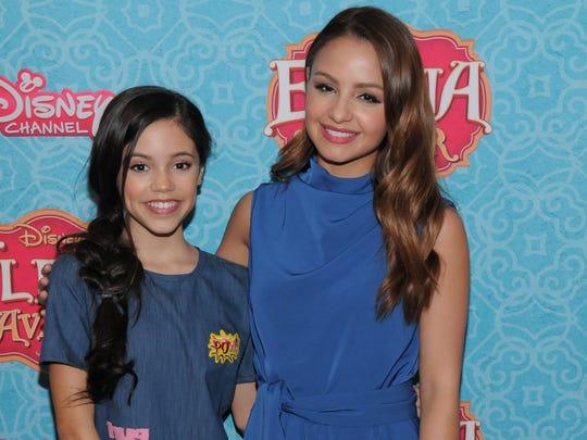 Jenna Ortega of La Quinta, on left, is the voice of Isabel, little sister to Princess Elena voiced by Aimee Carrero.