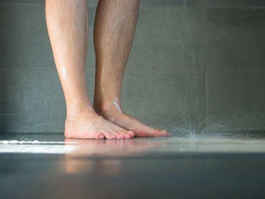 Wet legs