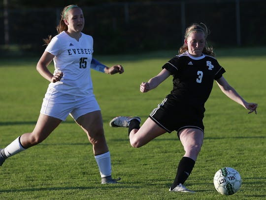 Senior defender Courtney Milkowski (3) has been a key cog in the heart of the Stevens Point Area Senior High defense throughout her varsity career.